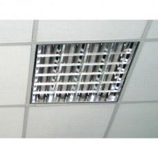 Светильник встраиваемый Милано, 595х595 (4х18Вт) для подвесного потолка