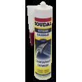 Герметик Soudal санитарный силикон белый (300мл)