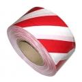 Лента сигнальная красно-белая (70ммх200м)