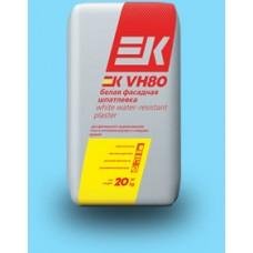 Шпаклевка цементная белая ЕК VH80 (20кг)