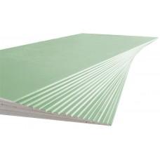 ГКЛВ Гипсокартон влагостойкий Аксолит 12.5мм (1.2х2.5м)