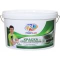 Краска Профилюкс PL-04А акриловая белая для потолков и стен (7кг)