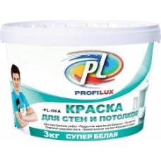Краска Профилюкс PL-06А акриловая супер белая для потолков и стен (7кг)