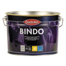 Краска Sadolin Bindo 3 (Садолин Биндо) для стен и потолка (10л)