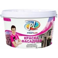 Краска Профилюкс PL-112А фасадная влагостойкая белая (7кг)