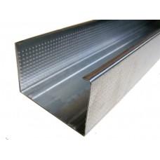 Профиль стоечный ПС 75х50 (0,6мм) 3м