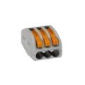 Клеммная колодка без винт WAGO 1вход х1выход ( 0.5—2) кв.мм