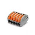 Клеммная колодка без винт WAGO 1х2( 0.5—2) кв.мм для осветительных приборов