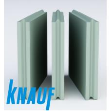 ПГП Пазогребневая гипсовая плита Кнауф полнотелая влагостойкая (667х500х100 мм)