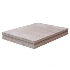 Пазогребневая плита полнотелая Аксолит 667х500х80 мм (ПГП)
