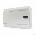 Щит пластиковый навесной 12 мод IP41 (кнопка) белая дверца Tekfor