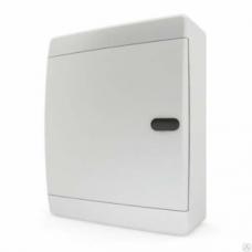 Щит пластиковый навесной 18 мод IP41 (кнопка) белая дверца Tekfor