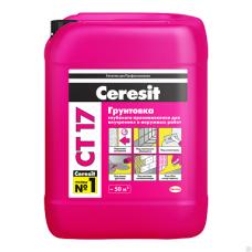 Грунтовка Ceresit CT 17 глубокого проникновения 10л